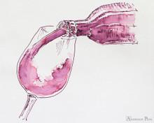Rohrer & Klingner Alt-Bordeaux Ink (50ml Bottle) - thINK Thursday Art