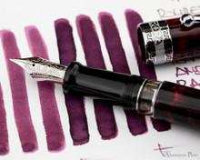 Rohrer & Klingner Alt-Bordeaux Ink (50ml Bottle) - thINK Thursday with Aurora Optima Nib