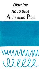 Diamine Aqua Blue Ink Color Swab