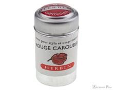 J. Herbin Rouge Caroubier Ink Cartridges (6 Pack)