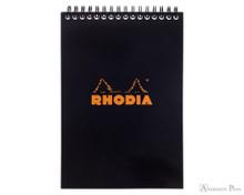 Rhodia No. 16 Wirebound Notebook - A5, Graph - Black
