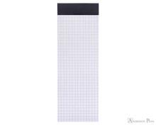 Rhodia No. 8 Staplebound Notepad - 3 x 8.25, Graph - Black open
