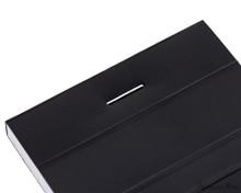 Rhodia No. 8 Staplebound Notepad - 3 x 8.25, Graph - Black staple detail