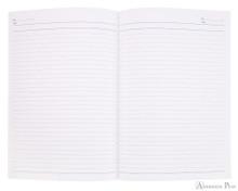 APICA CD15 Notebook - B5, Lined - Light Blue open