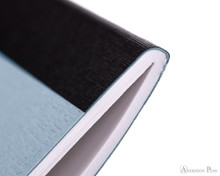 APICA CD15 Notebook - B5, Lined - Light Blue thread binding