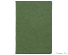 Clairefontaine Basic Staplebound Duo - 5.75 x 8.25, Lined Paper - Green Cover
