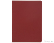 Clairefontaine Basic Staplebound Duo - 5.75 x 8.25, Lined Paper - Red
