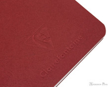 Clairefontaine Basic Staplebound Duo - 5.75 x 8.25, Lined Paper - Red and Green Logo
