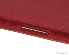 Clairefontaine Basic Staplebound Duo - 5.75 x 8.25, Lined Paper - Red and Green Binding
