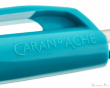 Caran d'Ache 888 Infinite Ballpoint - Turquoise Blue - Imprint