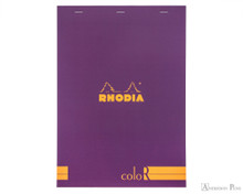Rhodia No. 18 Premium Notepad - A4, Lined - Purple