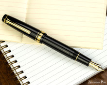 Sailor Pro Gear Fountain Pen - Black with Gold Trim
