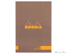 Rhodia No. 16 Premium Notepad - A5, Lined - Taupe, Lined