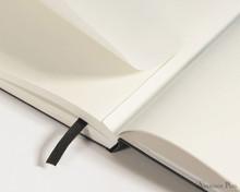 Leuchtturm1917 Notebook - A5, Lined - Navy closeup