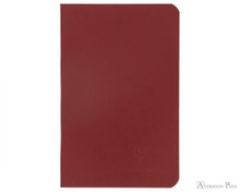 Clairefontaine Basic Staplebound Duo - 3.5 x 5.5, Lined Paper - Red Cover