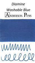 Diamine Washable Blue Ink Color Swab