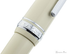 Sailor Pro Gear Color Fountain Pen - Ivory with Rhodium Trim