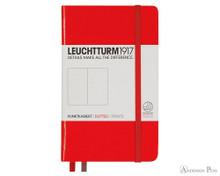 Leuchtturm1917 Notebook - A6, Dot Grid - Red