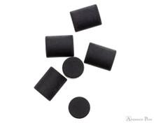 Retro 51 Pencil Eraser 6pk - Black