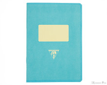 Clairefontaine 1951 Staplebound Notebook - 5.75 x 8.25, Lined - Turquoise