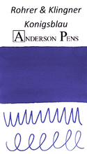 Rohrer & Klingner Konigsblau Ink Sample (3ml Vial)