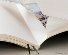 Leuchtturm1917 Softcover Notebook - A6, Lined - Black back pocket