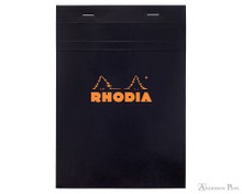 Rhodia No. 16 Staplebound Notepad - A5, Graph - Black