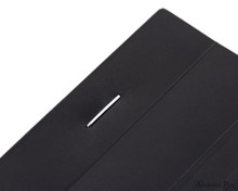 Rhodia No. 16 Staplebound Notepad - A5, Graph - Black staple detail