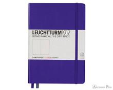 Leuchtturm1917 Notebook - A5, Dot Grid - Purple