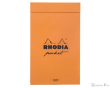 Rhodia Pocket Notepad - 3 x 4.75, Dot Grid - Orange