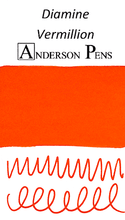 Diamine Vermillion Ink Sample (3ml Vial)