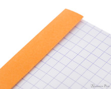 Rhodia No. 12 Staplebound Notepad - 3.375 x 4.75, Graph - Orange perforations