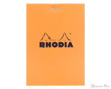 Rhodia No. 12 Staplebound Notepad - 3.375 x 4.75, Graph - Orange
