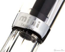 TWSBI Mini Fountain Pen - Clear - Cap Band 2