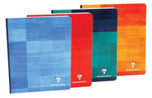 Clairefontaine Classic Clothbound Notebook - 6.5 x 8.25, Lined - Assorted