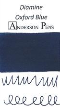 Diamine Oxford Blue Ink Color Swab