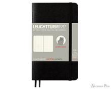 Leuchtturm1917 Softcover Notebook - A6, Dot Grid - Black