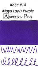 Kobe #14 Maya Lapis Purple Ink Color Swab