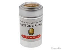 J. Herbin Ambre de Birmanie Ink Cartridges (6 Pack)