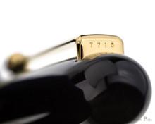 Namiki Chinkin Fountain Pen - Cat - Top of Clip