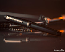 Sailor Pro Gear Fountain Pen - Imperial Black - Closed Beauty
