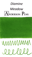 Diamine Meadow Ink Color Swab