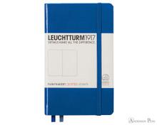 Leuchtturm1917 Notebook - A6, Dot Grid - Royal Blue