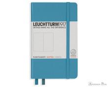 Leuchtturm1917 Notebook - A6, Dot Grid - Nordic Blue