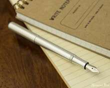 Kaweco Liliput Fountain Pen - Silver - Posted on Notebook