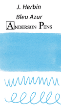 J. Herbin Bleu Azur Ink Color Swab