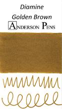 Diamine Golden Brown Ink Sample (3ml Vial)