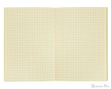 Life Vermilion Notebook - A6 (4 x 6), Graph Paper - Open