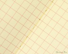 Life Vermilion Notebook - A6 (4 x 6), Graph Paper - Page Closeup