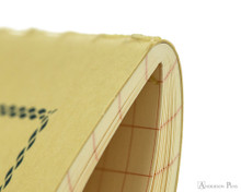 Life Vermilion Notebook - A6 (4 x 6), Graph Paper - Binding